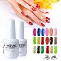 UV Gel black lab coats - GEL LAB ml Gelpolish Soak Off Gel Varnish Manicure Top Base Coat UV LED Shining Colorful Choose from Colors