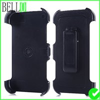 Wholesale Defender Case For S4 - Bello cellphone case defender case belt clip for iphone6 plus 7 7plus 5s 5c samsung s4 s5 s6 s6 s7 s8 note5 note3 note4 Kickstand holster