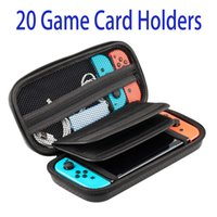 Wholesale Nintendo Cartridge - Switch Case, Nintendo Switch Hard Carrying Case with 20 Game Cartridge, Joy-con Game Console Accessories Protective Storage Bag Travel Case