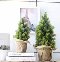 Wholesale Country Style Christmas Decorations - Christmas tree Christmas decoration America style Country desk decorations Christmas gift wholesale with free shipping