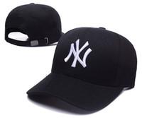 Wholesale Cheap Yankees Hats - 2017 Newest Fashion Yankees Adjustable MLB NY Snapback Hat Thousands Snap Back Hat Cheap Hat Adjustable men women Baseball Cap