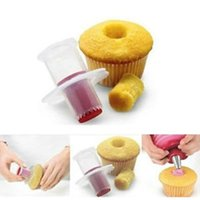 Wholesale kitchen plunger for sale - Group buy Kitchen Cupcake Muffin Pastry Cake Corer Plunger Cutter Decorating Divider Model