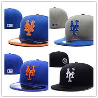 Wholesale Snapback Caps New York - 2017 New style baseball hat New York Mets adjustable baseball Fitted hats Fast recovery Wholesale baseball CAPS Snapback Hats Caps