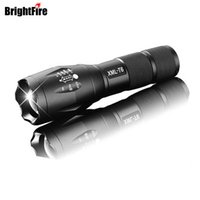 Wholesale Torch Led High Quality Diving - High Quality Professional 5 modes Zoomable XML-T6 LED Flashlight 3800LM Lumens lanterna Torch light