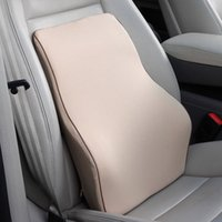 Wholesale Auto Seat Cushion Back Support - Car Lumbar Memory Foam Car seat back waist support waist pillow tournure waist support cushion auto Office Seat Chair