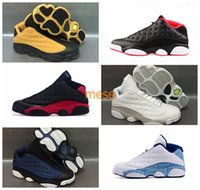Wholesale Lowest Priced Mens Shoes - Cheap Price Retro 13 XIII Low Basketball Shoes Mens Trainers 13s Bred Brave Blue Chutney White Sneakers for Men Designer Retro 13's