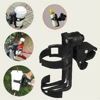 Wholesale Baby Bicycle Stroller - Baby Stroller Accessory Baby Infant Stroller Bicycle Carriage Cart Accessory Bottle Cup Holder Adjustable 360 Degree Roating