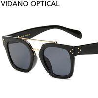 Wholesale Classic Eyeglasses - Vidano Optical Latest Classic High Quality Women Sunglasses Hot Party Designer Sun Glasses For Men Eyewear Vintage Fashion Eyeglasses UV400