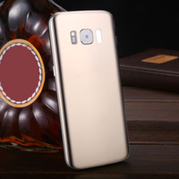 Wholesale newest goophone - Newest Goophone S8 5.5inch Quad Core MTK6580 Cellphone Unlocked Free Shipping Real Ram 1GB Rom 8G Dual Sim 3G IPS Edge Curve Free Shipping