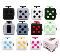 Wholesale Cube World Toys - 2017 New Popular Decompression Toy Fidget cube the world first American decompression anxiety Toys free dhl shipping