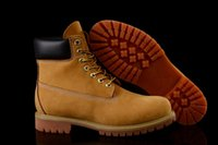Wholesale Sneakers Boots Platform Heels - (with box)2017 Fashion Classic 10061 Wheat Yellow TBL Boots Women Mens Retro Waterproof Outdoor Work Sports Shoes Casual Sneakers Size 36-44