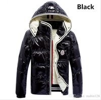 Wholesale free ribs - Bigease clothing Winter Man high-quality fashion down jacket men women thick coat hooded light brand down jacket S-XXL free drop shipping