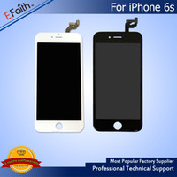 Barato Toque De Polegada De Exibição-Para iPhone 6S Grau A +++ LCD Assembly 4.7 polegadas Display com Touch Screen Digitizer Replacement Free DHL Shipping