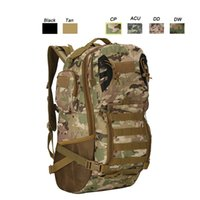 Wholesale Tactical Molle Assault Backpack - Outdoor Sports Waterproof Tactical Pack Bag  Rucksack   Knapsack   Assault Combat Camouflage Tactical Camo Molle Backpack NO11-015