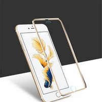 Neueste 3D Curved Glass Display Schutzfolie Covering The Whole Titanium Film für Iphone 6 / 6s / 6p / 6sp / 7 7 plus