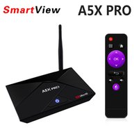 A5X PRO Android 7.1 TV Quad Quad RK3328 2GB 16GB KD Загруженный USB 3.0 Media Player VS V88 MXQ PRO