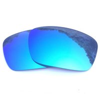 Wholesale holbrook blue for sale - Ice Blue Mirrored Polarized Replacement Lenses for Holbrook Sunglasses Anti Saltwater Anti dust