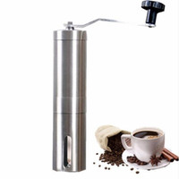 Espresso Coffee Maker UL Manual Manual Coffee Grinder Hand Steel Ceramics Core Coffee Grinding Hand Mill Cafe Burr Mill Grinder Ceramic Corn Coffee Machine
