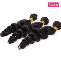 Wholesale Loose Deep Bundles - 8A Unprocessed Brazilian Virgin Hair Loose Wave 4 Bundles Curly Weave Human Hair Bundles Brazilian Loose Wave Soft and Tangle Free