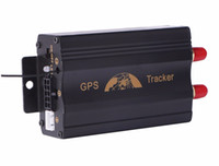 Wholesale Gsm Alarms United States - Car GPS Tracker Coban TK103B GSM GPRS Tracking System GPS103B Motorcycle Alarm Location Tracker Remote Control Cut Off Oil Power