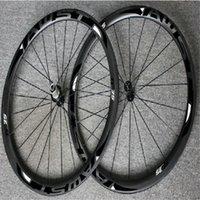 Wholesale chinese wheel bike - WAST black 38mm full carbon road bike wheels set clincher 700C chinese road carbon wheels 38mm width basalt surface wheels powerway hubs