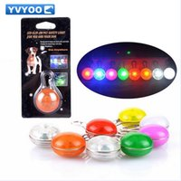 Wholesale Pendant Led Flashes - Perro Dogs Glowing Collars Pet Dog Pendants Flashing Led Collar Luminous Accessories Para Cachorro Trinkets For Animals