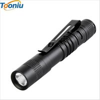 Wholesale Outdoor Light Switch - zk5 Portable Mini Penlight Q5 250LM LED Flashlight Torch Pocket Light 1 Switch Modes Outdoor Camping Light Lamp