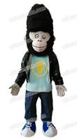 Wholesale Gorilla Adult Costume Mascot - AM0141 Movie Sing Character Gorilla Jimmy mascot costume adult fancy dress party costumes fur mascot