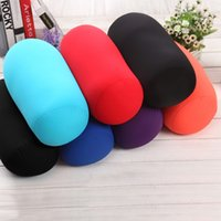 2016 O mais novo 35x17CM Pillow Micro Mini Microbead Almofada Coluna Mini Neck Roll Pillows Travel Pillow Microbead Cushion Home Decor