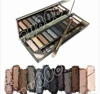 Wholesale Eye Shadow Palette Brown - Factory Direct DHL Free Shipping New Makeup Eyes Nude Smoky Palette 12 Color Eye Shadow!12X1.3g