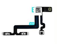 iphone 5c power flex achat en gros de-Bouton de puissance Bouton de contrôle du câble Flex avec microphone pour iphone 5G 5S 5C 6 6 Plus