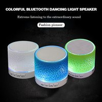 Wholesale Dhl Free Shipping Bluetooth Speaker - Crack flash Bluetooth Speakers Wireless Portable Waterproof Outdoor HIFI Bluetooth 4.2 Speakers FM Charge Function DHL Free Shipping