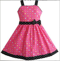 Wholesale Tutu Heart Dress Loving - red love heart girls dresses fashion bright love style children kids vestidos overalls outfit new arrival hot selling free shipping