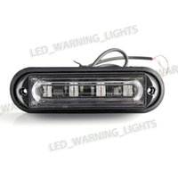 Wholesale Daytime Car 4w - High Bright 4W LED Warning Lights Truck Auto Car Daytime Running Lights, 12V Turn Signals Lamp offroad amber led Strobe Light