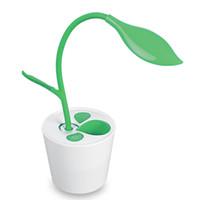 проекторы для детской комнаты оптовых-Новое прибытие сенсорный Затемняемый LED настольная лампа USB стол ночник настольная лампа с держателем ручки хороший подарок для студента