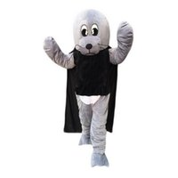 Wholesale Sea Lion Costumes - Sea lion Mascot cartoon, factory physical photos, quality guaranteed, welcome buyers to the evaluation and cargo photos