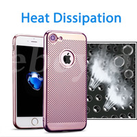 For Apple iPhone painting covers - Ultra Thin TPU Colorful Soft Heat Dissipation Case Phone Protective Electroplating Cover Spray Paint Cases For iPhone S S plus plus
