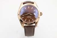 Wholesale Ocean Roses - Luxury Top Quality Watch BF Factory Maker 42mm x 12mm Planet Ocean Co-Axial Rose Gold Movement Automatic Mens Watch Watches