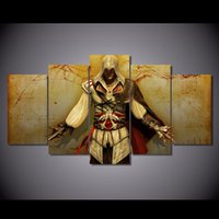 Wholesale game room art - HD Printed Assassins Creed Game Poster Painting Home decor Room Wall Art Picture Panel No frame