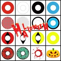 Wholesale Movie Stars - Free Shipping Large Stock Halloween Contact Lenses White Out Contacts White Mesh Crazy lens for Cosplay and Halloween