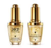 Wholesale Gold Cream For Face - BIOAQUA 24K Gold Face Cream Moisturizing 24 K Gold Day Cream Hydrating 24K Gold Essence Serum For Women Face Skin Care