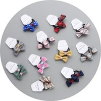 Wholesale Baby Hair Rubber Ponytail - Children Do Not Hurt Hair Rope Rubber Baby Girls Kids Cute Bowknot Bands Ponytail Rope Headbands