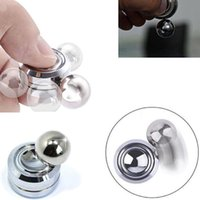 Wholesale Fidget Toy Magnetic ORBITER Hand Spinner Metal Finger Spinner For Decompression Anxiety Cotton with Retail Packing