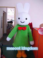 Wholesale Miffy Rabbit Costume - Cute Miffy Rabbit Bunny Mascot Costume Dress Free Shipping Adult Size