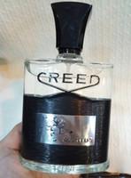 Wholesale Designer Perfume Men - Good smell designer perfume creed aventus for men 120ml