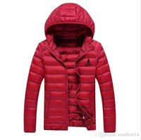 Wholesale Men Best Down Jackets - AD brand men 's coat winter down jacket Best Quality adults hoodies 100% eiderdown 4 colors size M-3XL hot sell