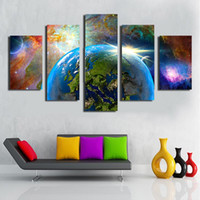 Ink space stars pictures - 5pcs UnFramed Printed Stars universe space Printing room decoration