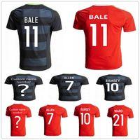 Soccer Men Short Wales Soccer Jersey 10 AARON RAMSEY 11 GARETH BALE ALLEN  TAYLOR WARD 9  Women s New England Patriots  11 Julian Edelman Grey Stitched  ... fe2224c4c