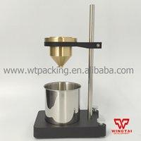 taza de prueba al por mayor-Venta al por mayor - Apertura de acero inoxidable de 4 # Prueba de viscosidad de líquidos Copa