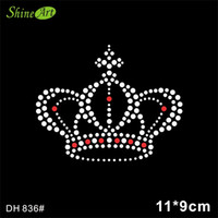 Wholesale Custom Iron Transfers Wholesale - Free shipping Crown Quality Heat Transfer Design Iron On Garment Custom Design For Wholesales And Retail DIY DH836#